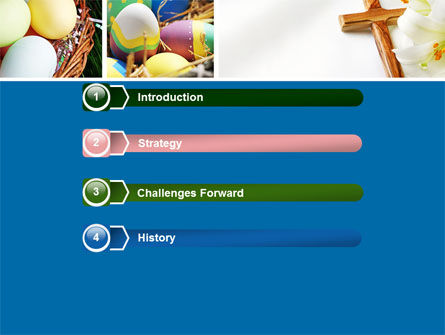 Easter Sunday Free PowerPoint Template, Slide 3, 05120, Holiday/Special Occasion — PoweredTemplate.com