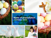 Holiday/Special Occasion: Easter Sunday Free PowerPoint Template #05120