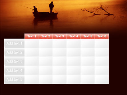 Recreational Fishing PowerPoint Template Slide 15
