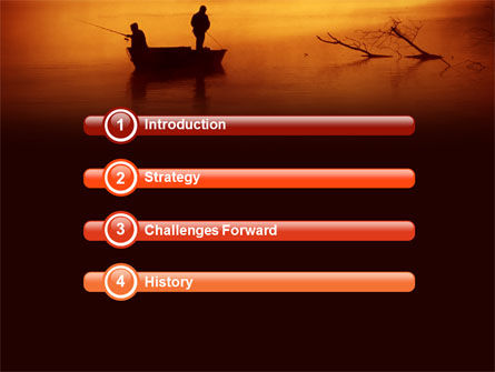 Recreational Fishing PowerPoint Template, Slide 3, 05122, Nature & Environment — PoweredTemplate.com