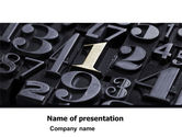 Careers/Industry: First PowerPoint Template #05123