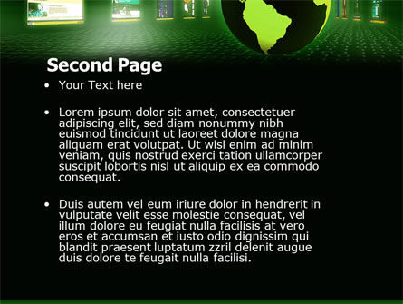 Web Presence PowerPoint Template, Slide 2, 05124, Technology and Science — PoweredTemplate.com