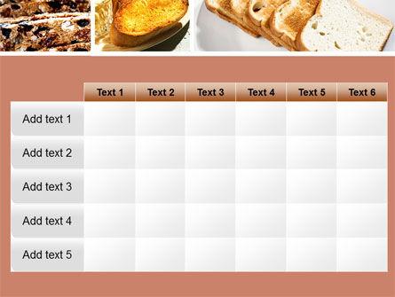 Toast PowerPoint Template Slide 15