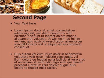 Toast PowerPoint Template Slide 2