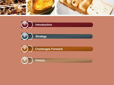 Toast PowerPoint Template Slide 3