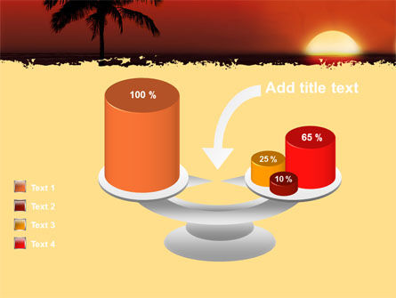 Tropical Sunset PowerPoint Template Slide 10