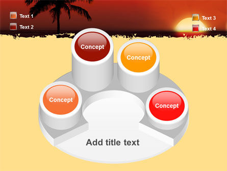 Tropical Sunset PowerPoint Template Slide 12