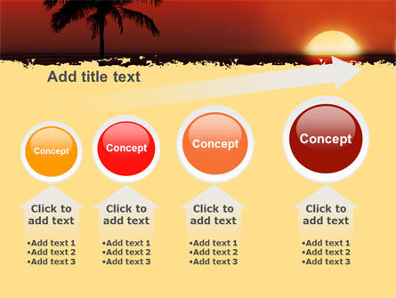 Tropical Sunset PowerPoint Template Slide 13