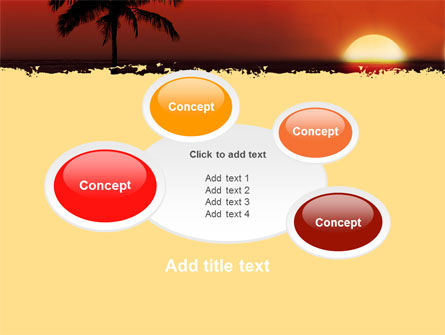 Tropical Sunset PowerPoint Template Slide 16