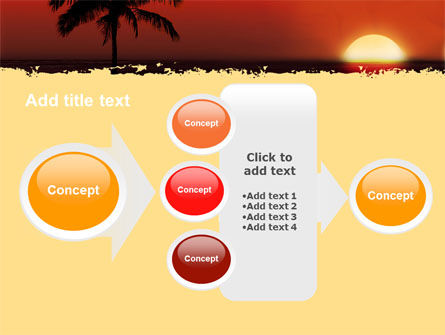 Tropical Sunset PowerPoint Template Slide 17