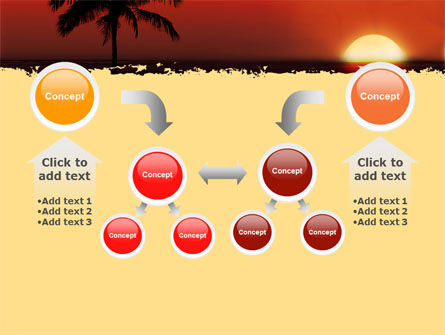 Tropical Sunset PowerPoint Template Slide 19