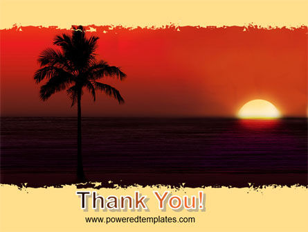 Tropical Sunset PowerPoint Template Slide 20