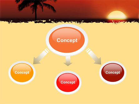 Tropical Sunset PowerPoint Template Slide 4