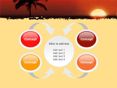 Tropical Sunset PowerPoint Template Slide 6