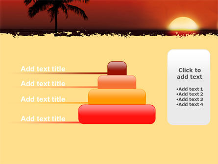 Tropical Sunset PowerPoint Template Slide 8