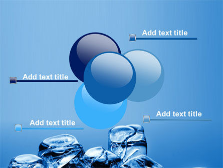 Ice Cubes PowerPoint Template Slide 10