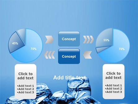 Ice Cubes PowerPoint Template Slide 11