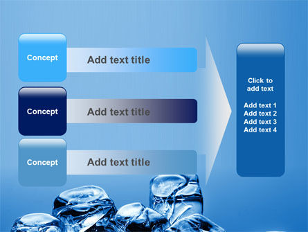 Ice Cubes PowerPoint Template Slide 12