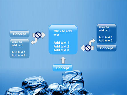 Ice Cubes PowerPoint Template Slide 13