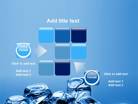 Ice Cubes PowerPoint Template Slide 16