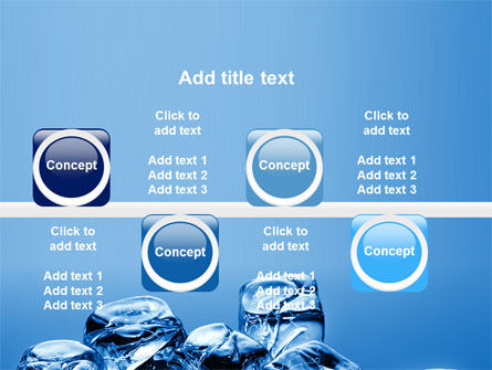 Ice Cubes PowerPoint Template Slide 19
