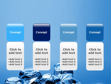 Ice Cubes PowerPoint Template Slide 5