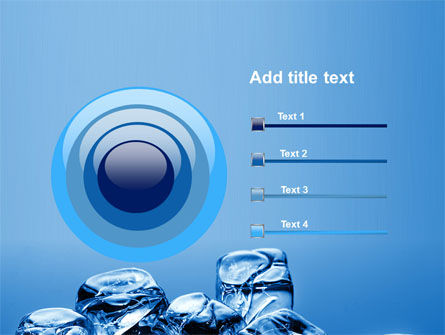 Ice Cubes PowerPoint Template Slide 9