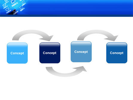 Computer Net PowerPoint Template Slide 4