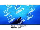 Computers: 电脑网PowerPoint模板 #05133