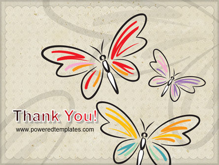 Butterflies PowerPoint Template Slide 20