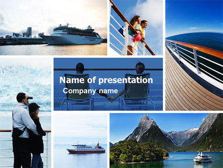 Cruise PowerPoint Template, 05138, Health and Recreation — PoweredTemplate.com