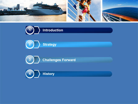 Cruise PowerPoint Template, Slide 3, 05138, Health and Recreation — PoweredTemplate.com