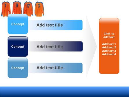 Football T-shirts PowerPoint Template Slide 12