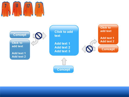 Football T-shirts PowerPoint Template Slide 13