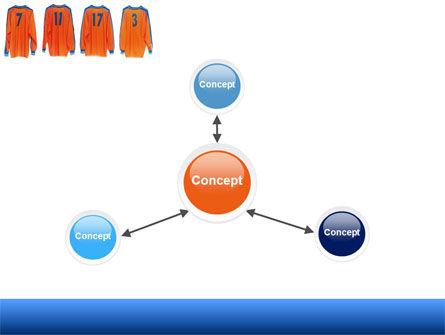 Football T-shirts PowerPoint Template Slide 14