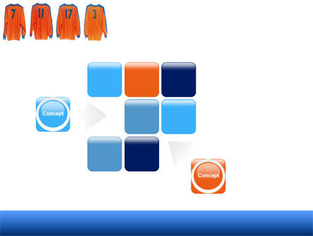 Football T-shirts PowerPoint Template Slide 16