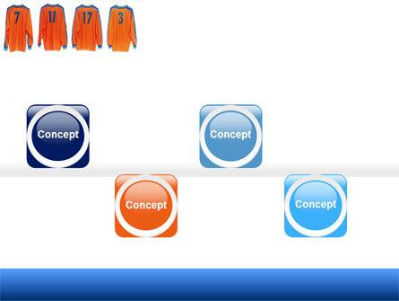 Football T-shirts PowerPoint Template Slide 19