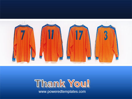 Football T-shirts PowerPoint Template Slide 20