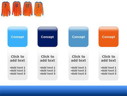 Football T-shirts PowerPoint Template Slide 5