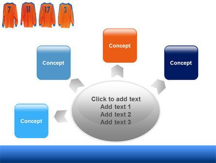 Football T-shirts PowerPoint Template Slide 7