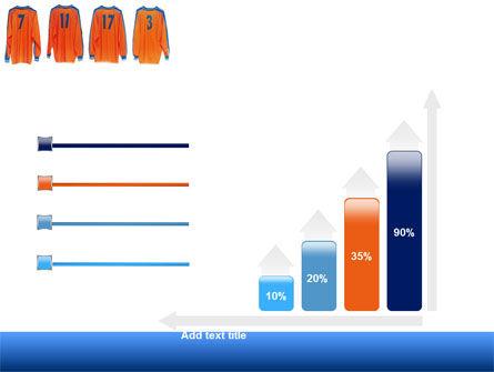 Football T-shirts PowerPoint Template Slide 8