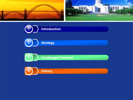 Oregon PowerPoint Template, Slide 3, 05142, America — PoweredTemplate.com