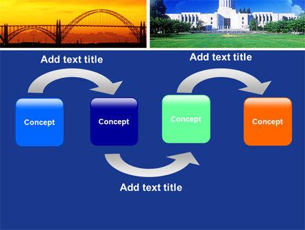 Oregon PowerPoint Template, Slide 4, 05142, America — PoweredTemplate.com