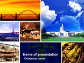 America: Oregon PowerPoint Template #05142
