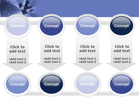 Last Puzzle Needed PowerPoint Template Slide 18