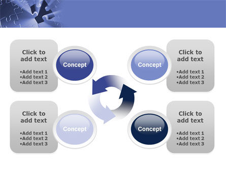 Last Puzzle Needed PowerPoint Template Slide 9