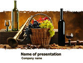 Food & Beverage: Winemaking PowerPoint Template #05145