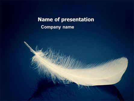 General: Feather PowerPoint Template #05149