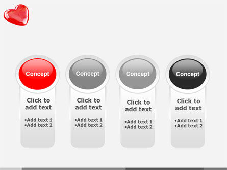 Red Heart PowerPoint Template Slide 5