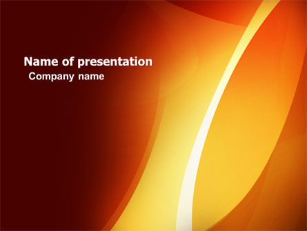 Warm Light PowerPoint Template